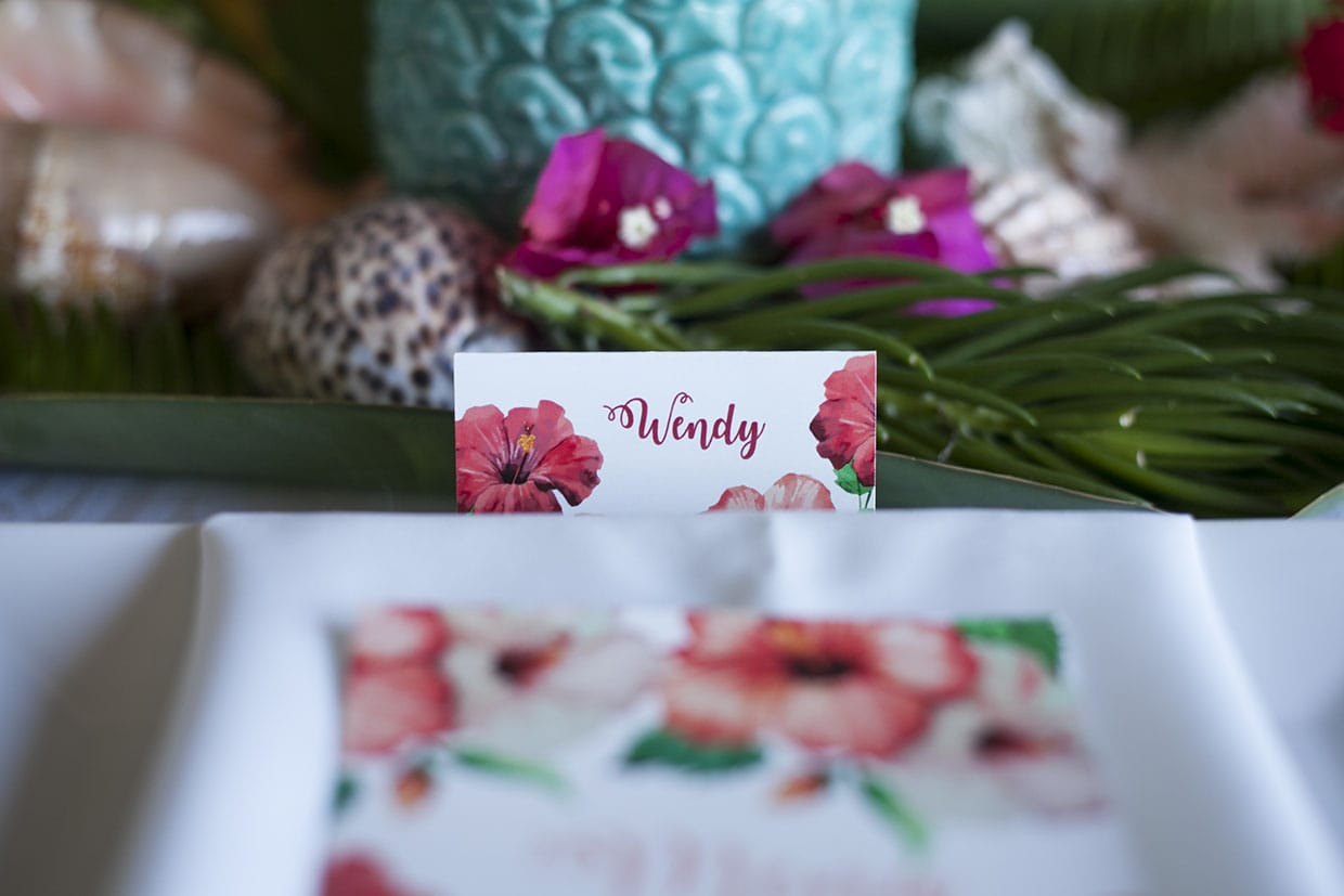 Coral Island Tropical Styled Shoot