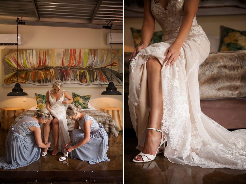Lisa & Monet Wedding - Red Ivory